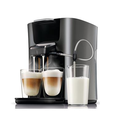 Cafetière Senseo Latte Duo noire