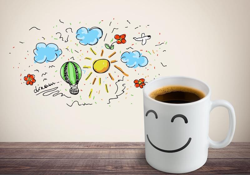 Le plaisir d'un café